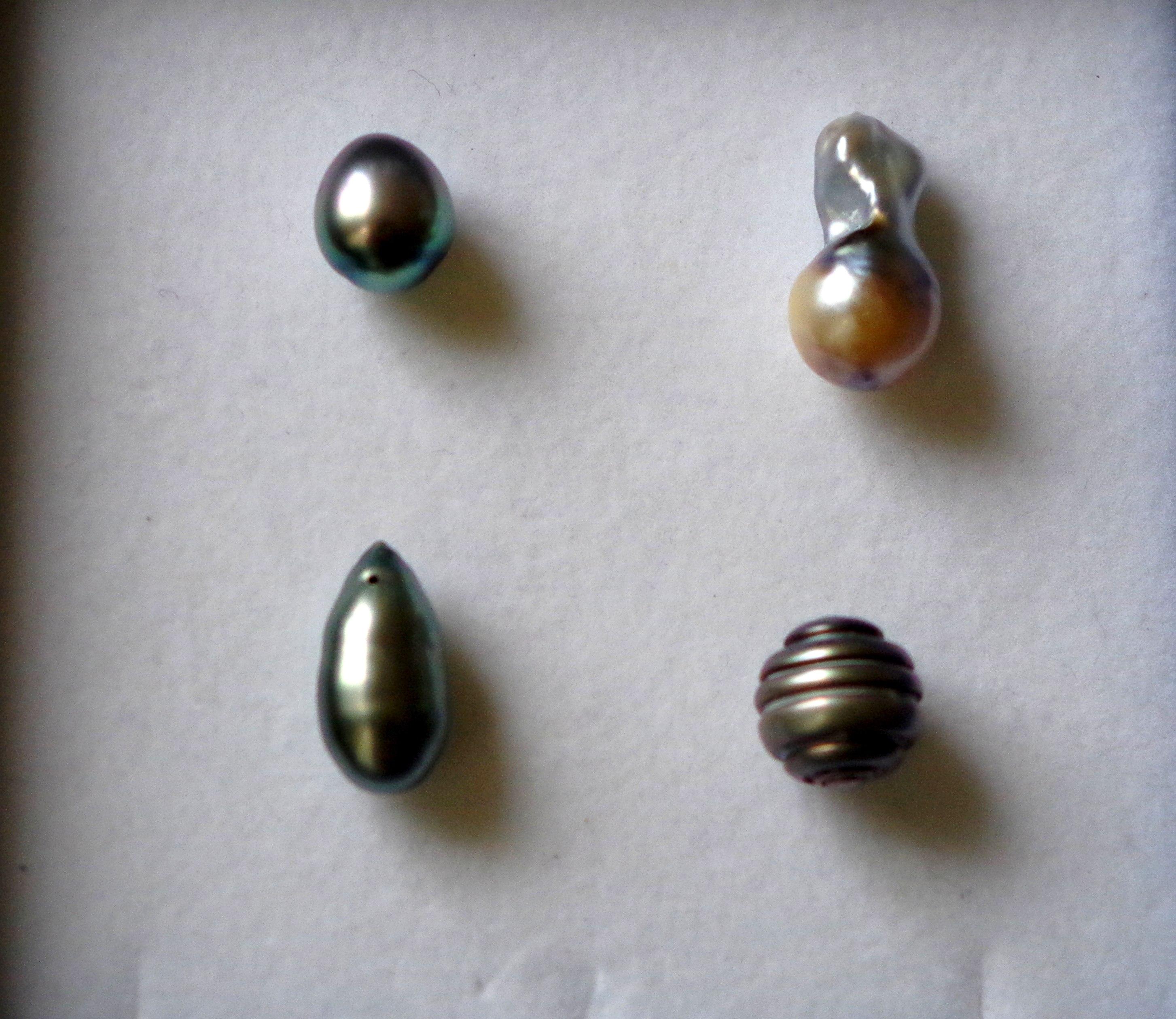Les perles de Tahiti…