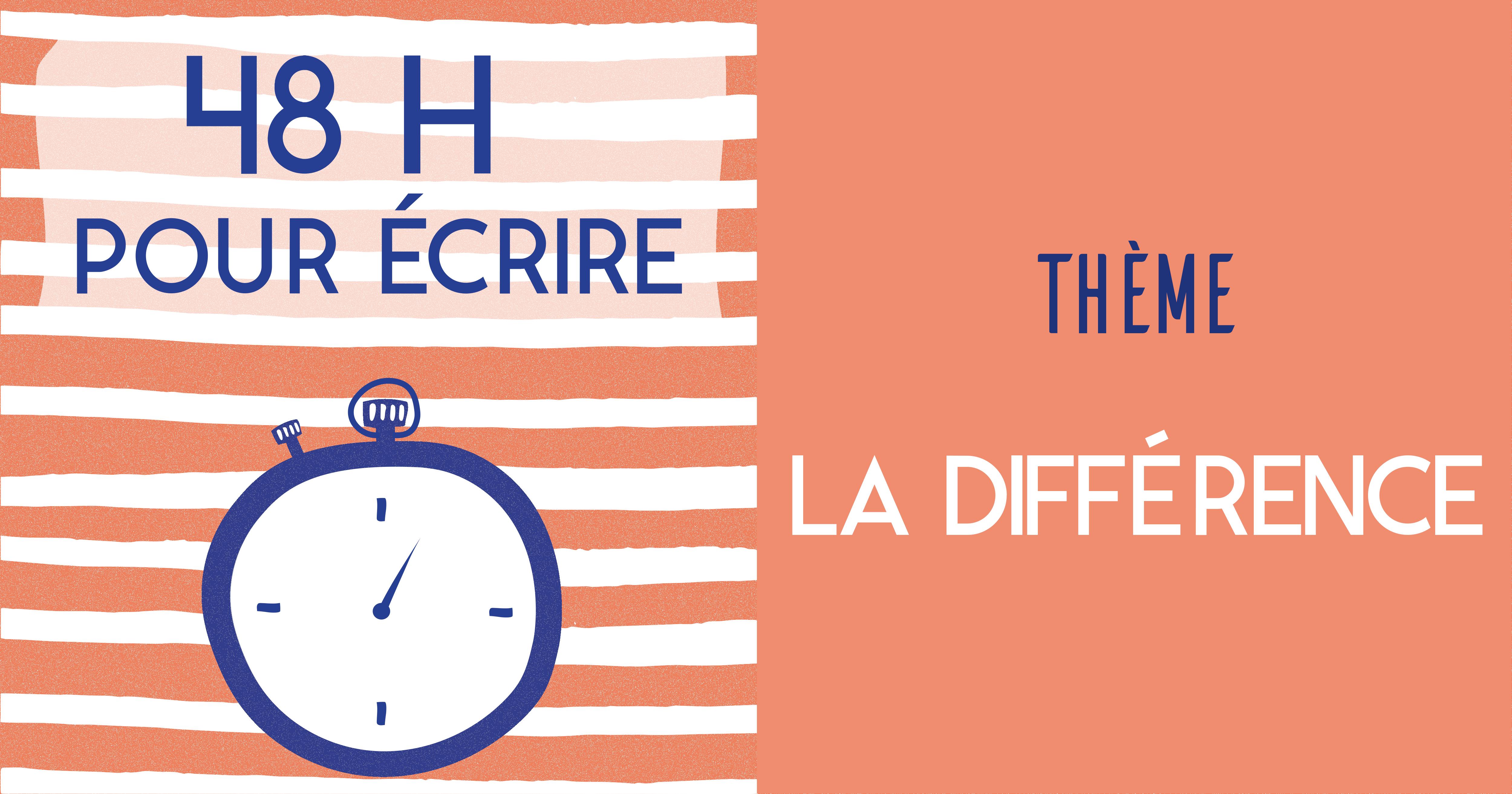 """(Français) Concours """"48H pour écrire"""" 2016"""