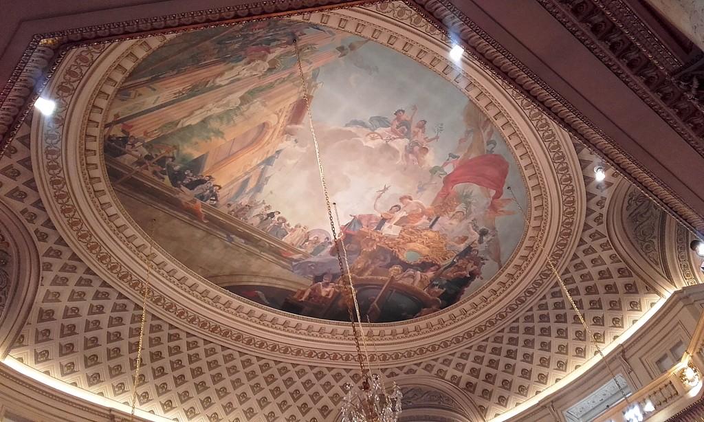 Salle Guillaume Dupré, peinture de Jean-Joseph Weerts.