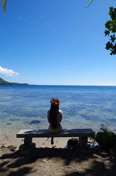 De la Baie de Cook, je contemple mes 33 printemps...je me dis que c'était pas si mal et que je signe pour 100 de plus ;-)